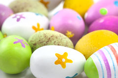 Hand painted easter eggs Royalty Free Stock Image