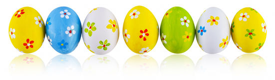 Hand Painted Easter Eggs. Stock Photography