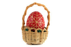 Hand-painted easter eggs Royalty Free Stock Photos