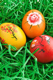 Hand painted egg Royalty Free Stock Photos