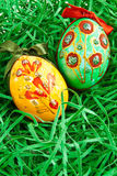 Hand painted egg Royalty Free Stock Image