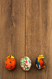 Hand painted eggs Royalty Free Stock Photography