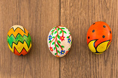 Hand painted eggs Royalty Free Stock Image