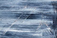 Hand Painted Scratched Texture. Hand painted grunge texture background with brush stroke marks and scratches royalty free stock photography