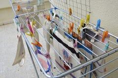 Hand painted handbags Stock Photo