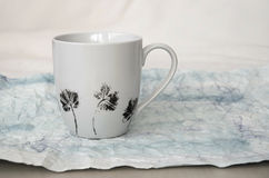 Hand painted mug Stock Photos