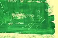 Hand painted  multi-layered green background with scratches Royalty Free Stock Images