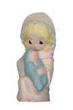 Hand painted Nativity ceramic Stock Images