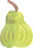 Hand Painted Pear Royalty Free Stock Images