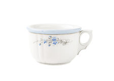 Hand painted rustic tea cup Royalty Free Stock Image