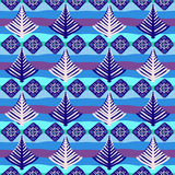 Hand-painted seamless pattern Royalty Free Stock Image