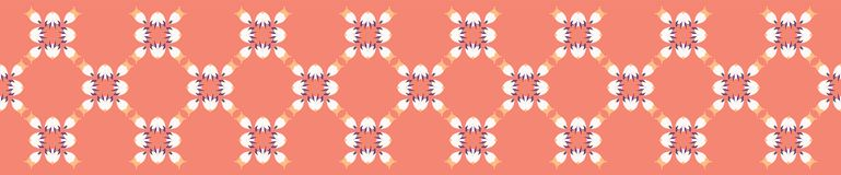 Hand painted small scale floral vector seamless pattern. vector illustration