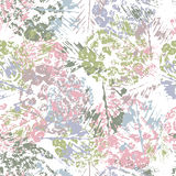 Hand painted textured abstract seamless pattern Stock Photography