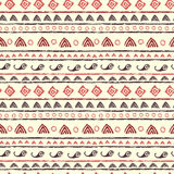 Seamless pattern in tribal style Stock Image