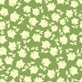 Sunny flowers seamless pattern Stock Photography