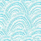 Hand painted textured seamless pattern Stock Image