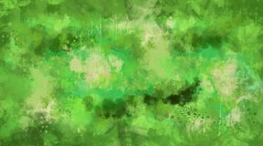 Abstract green watercolor background. Bright multi colored spots. Hand painted watercolor background. Abstract multicolored spots royalty free illustration