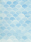 Hand painted watercolor background. Blue watercolor background azure scale Royalty Free Stock Photos
