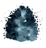 Hand painted watercolor background Royalty Free Stock Photography