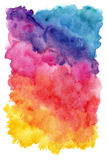 Hand painted watercolor background Royalty Free Stock Photo