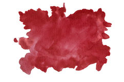 Hand painted watercolor background Stock Photography