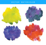 Hand painted watercolor texture Stock Photo