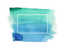 Hand painted watercolor texture Royalty Free Stock Photo