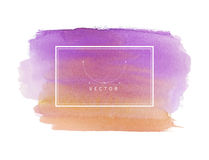Hand painted watercolor texture Royalty Free Stock Photography