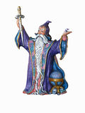 Hand painted wizard doll Royalty Free Stock Photography