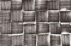 Hand painted woven pattern Royalty Free Stock Photo