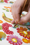 Hand painting Stock Photos