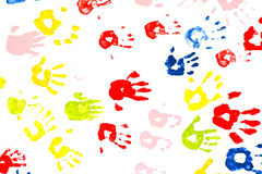 Hand painting. Royalty Free Stock Photography