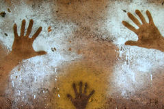Hand Painting - Aboriginal Rock Art, Kakadu