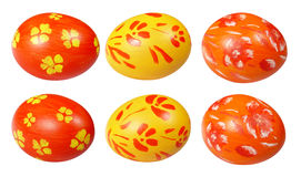 Hand painting Easter eggs Stock Image