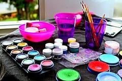Hand painting Stock Photo