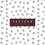 Hand pattern with brush strokes. Fashion background. Hand crafted seamless patterns. They have a textured look and can be used to decorate your print designs vector illustration