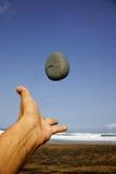 hand pebblen Arkivfoton