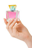 Hand with perfume Stock Photography