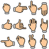 Hand Pictogram Royalty Free Stock Images