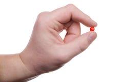 Hand, Pille Lizenzfreie Stockbilder