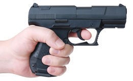 Hand with pistol Stock Image
