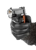 Hand with pistol Royalty Free Stock Image