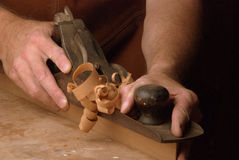 Hand Plane Royalty Free Stock Images