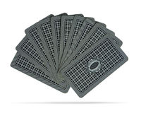 Hand of playing cards Royalty Free Stock Photos
