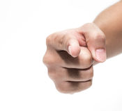 Hand pointing at you Royalty Free Stock Image