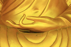 Hand postures of the Buddha Royalty Free Stock Photo