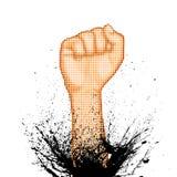 Hand of Power Stock Image