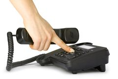 Free Hand Pressing Key Stock Image - 14964031