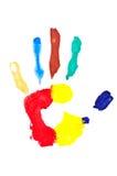 Hand print Royalty Free Stock Photos