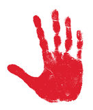 Hand print Royalty Free Stock Images